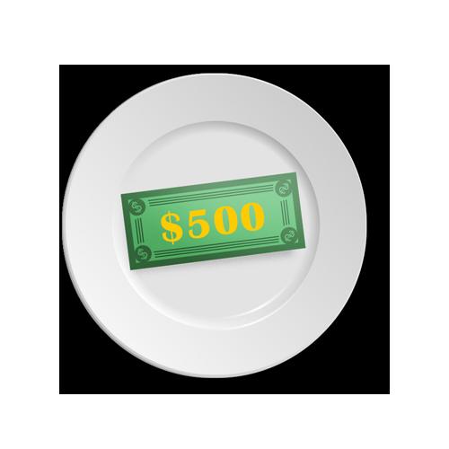 500-dinner